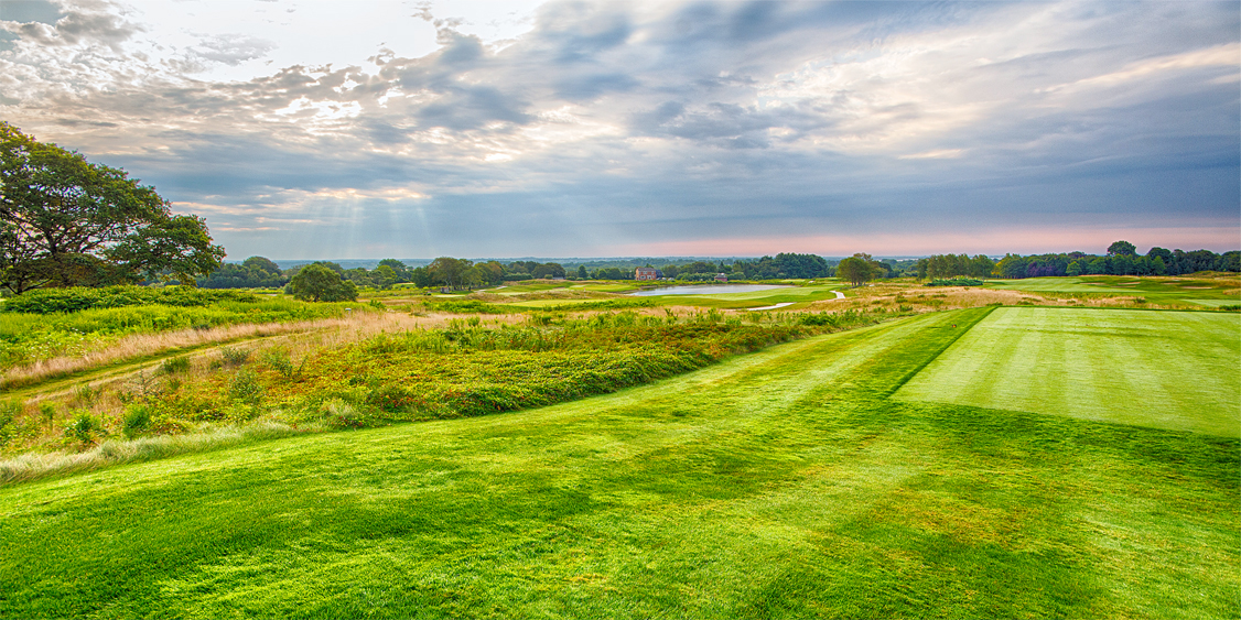 One Of The Courses Located At Golf Vacation Spot Newport National Golf Club In Middletown, RI