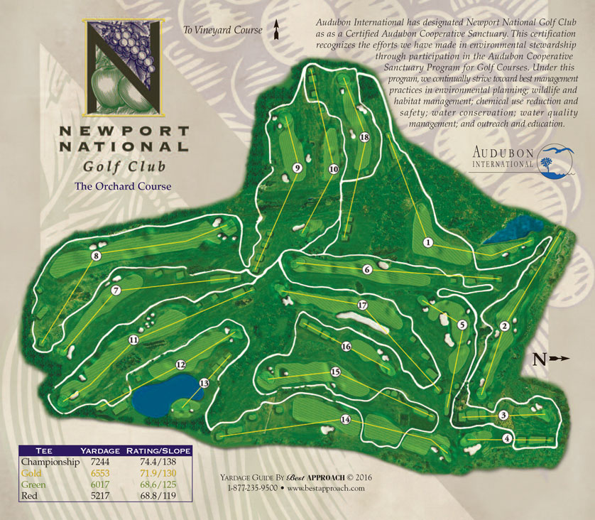 Newport National Golf Club Middletown Rhode Island