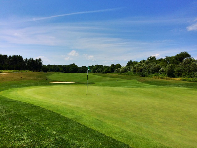The Long Par-4 Second Is The No. 3 Handicap Hole At Newport National Golf Club In Middletown, Rhode Island. (Mike Bailey/Golf Advisor)